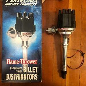 Pertronix Distributor D100700 Flame thrower Vacuum Advance For Chevy Billet