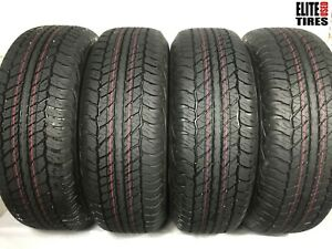 Set Of 4 Dunlop Grandtrek At20 P265 70r17 265 70 17 Tire Dealership Take Offs