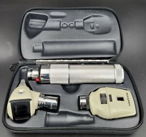 Welch Allyn 2 5v Diagnostic Set With Otoscope Ophthalmoscope Plugin Handle 2