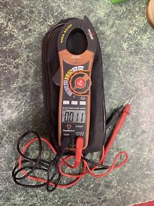 Southwire 21550t 400a Ac dc Clamp Meter Black
