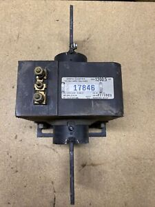 General Electric Current Transformer 752x20g6 Jcm 2 1200 5 Amp Ratio Used