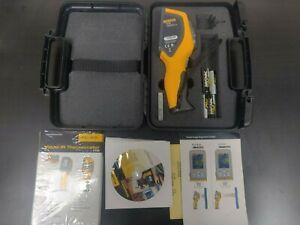 Fluke Vt02 Visual Ir Infrared Thermometer Temperature Meter Tester New Extras