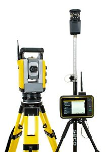 Trimble Sps930 1 Dr Robotic Total Station T7 Tablet W Siteworks Scs900