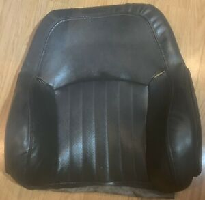 1993 02 Pontiac Trans Am Firebird Gray Front Upper Pass Leather Seat Cover