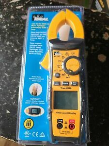 Ideal 61 747 Digital 400a Ac dc Trms Clamp Meter Leads Multimeter