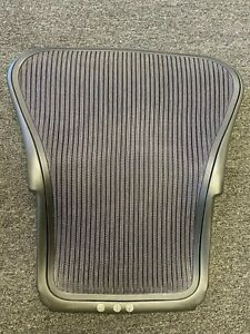 Herman Miller Aeron Office Chair Size A Dark Purple Back And Mesh
