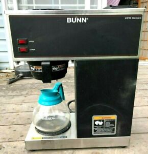 Bunn Vpr 12 Cup Commercial Coffee Maker Brewer Black 33200 1000 Pour Over Os