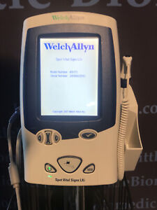 Welch Allyn Lxi Spot 45nto Vital Signs Monitor Nibpspo2 Temp Patient Ready