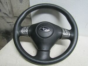 09 Subaru Forester Steering Wheel