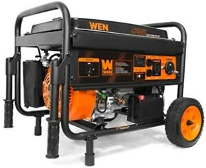 Wen Portable Generator With Electric Start And Wheel Kit Choose Model Options