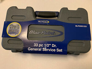 Blue Point 1 2 Drive General Service Socket Set 33 Piece New Sold Buy Snap On