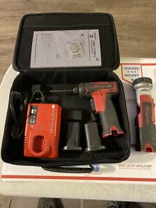 Snap On Cts661 Cordless Screwdriver Flash Light Used