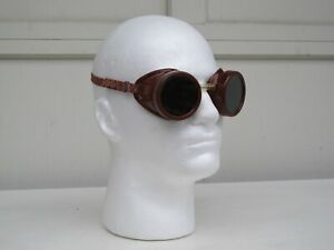Vintage A i Welding Safety Goggles Steampunk Glasses Made In Usa