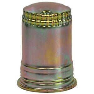 New 1962 68 Fairlane Fuel Filter Canister Galaxie Mustang Falcon Ford Gold Zinc