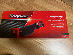 New Snap On Cordless Ctrs8850db 18v Monster Lithium Ion Reciprocating Saw
