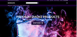 Smokers Store Website affiliate Products premium Designed
