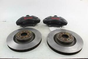 2015 20 Ford Mustang Gt Front Pair Of Calipers Rotors Oem Brembo Brakes