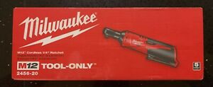 Milwaukee M12 Cordless 1 4 Ratchet Tool Only fast Shipper