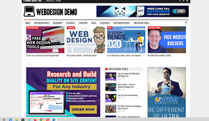 Web Design Guides Website affiliate Products Automated Content