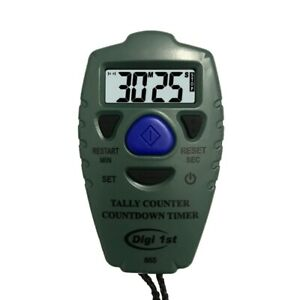 Digi 1st Tc 865 Digital Tally Counter With Countdown Timer