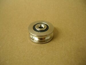 5mm Bore Bearing With 28 5mm Od Steel Wire Rope Cable Track Pulley