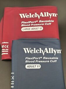 Welch Allyn Flexiport Adult Blood Pressure Cuff Reuse 11 Reuse 12 Large New