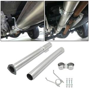 For 2013 2017 Dodge Ram 6 7l Turbo Diesel stainless Steel 4 Exhaust Tube Pipe