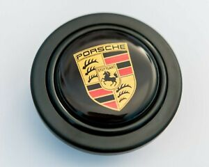 Horn Button Crest Momo Sparco Omp Steering Wheel 911 914 964 993 356 Carrera Rs
