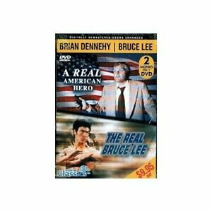 A Real American Hero amp; The Real Bruce Lee **DISC ONLY WITH TRACKING** $3.75
