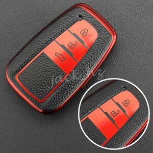 Smart Key Fob Cover Case For Toyota Camry Rav4 Corolla C hr Highlander Kluger