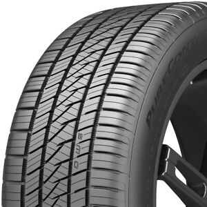 4 New 205 50r17xl Continental Purecontact Ls Tires 93 V