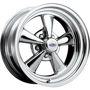 2 New 17x7 Cragar 61c S s Chrome Wheels Rims 06 5x4 75