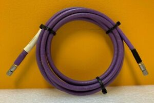 W l Gore R2r01r01112 0 Dc 18 Ghz 50 Ohm 112 Low Loss Rf Test Cable Tested
