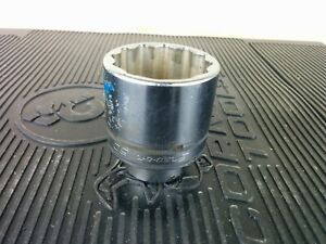 ak414 Snap on Ldhm502 50mm Shallow Socket 3 4 Drive 12 Point