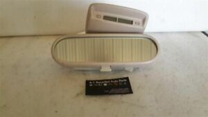 Rear View Mirror With Digital Clock Fits 00 01 Vw Beetle 82742