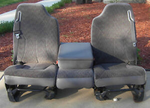1998 2002 Dodge Ram Oem Cloth Truck Seats 1998 1999 2000 2001 2002