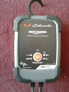 Schumacher Model Sc1279 8amp Automatic Battery Charger With Instruction Manual