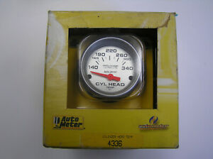 Auto Meter 4336 Cylinder Head Temp Gauge Ultra Lite
