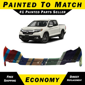 New Painted To Match Front Upper Bumper Cover For 2017 2020 Honda Ridgeline
