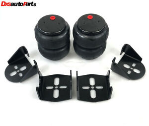 2pcs 2600 Lb Air Bags Weld On Rear Suspension Mount Bracket Kit For 2 75 Axle