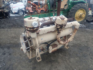 Lister Ja6 Diesel Engine Rare Complete Takeout Air Cooled Industrial