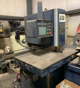 Roper Whitney Hpr 1510 Cnc Punch Press Profab 15 Ton With Punch And Die Sets