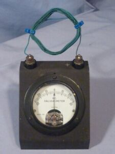 Weston No 375 Dc Galvanometer Benchtop Slant Front With Stand
