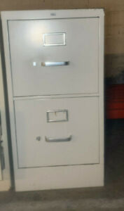 Hon 2 drawer Letter Size Metal Filing Cabinets used Local Pickup Only