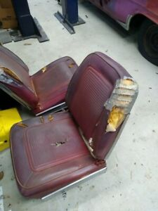 1962 62 Plymouth Sport Fury Bucket Seat Set