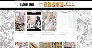 Fashion News Guides Website Affiliate Product Website 100 Automated