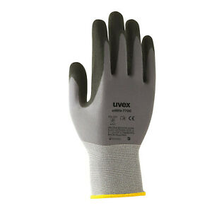 3 Pairs Uvex Safety Gloves Hi dexterity Handling Or Assembly Work Unilite 7700