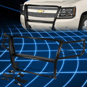 For 07 14 Tahoe suburban 1500 Black Bumper Grill Protector Grille Brush Guard