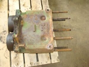 1953 John Deere 60 Tractor Engine Block