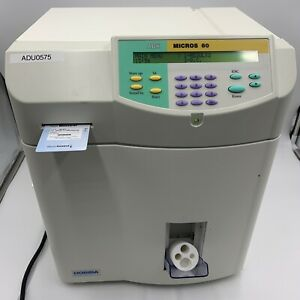 Horiba Abx Micros 60 Hematology Analyzer With Many Parts And Accessories
